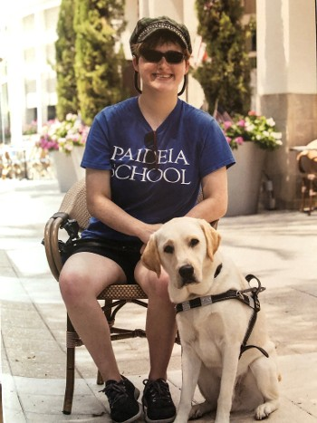 A Guide Dog Brings Independence